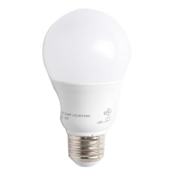 Satco S29837 9.8 Watt A19 LED 3500K 120V 800 Lumen Medium (E26) Base Frosted White 220 Degree Bulb (9.8A19/OMNI/220/LED/35K)