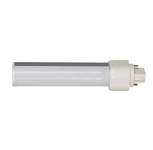 Satco S8533 9 Watt LED PL 4000K 120V-277V 1000 Lumen G24D (2-PIN) Base 120 Degree Horizontal Frosted Bulb (9WPLH/LED/840/BP/2P)