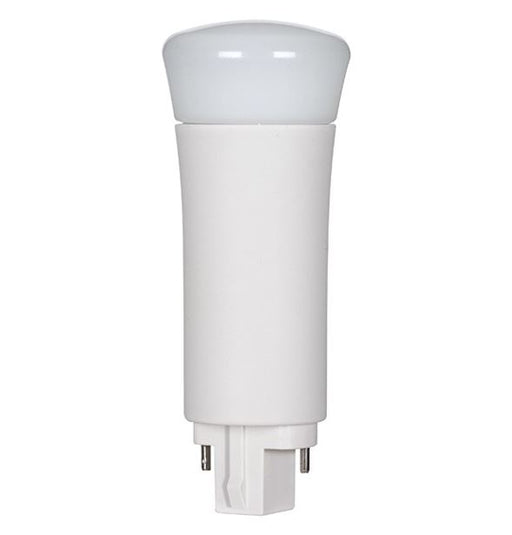 SATCO/NUVO 9WPLV/LED/850/BP/2P 9W LED PL 2-Pin 5000K 1000 Lumens G24D Base 50000 Average Rated Hours 120 Degree Beam Spread Vertical Type B Ballast Bypass (S8539)