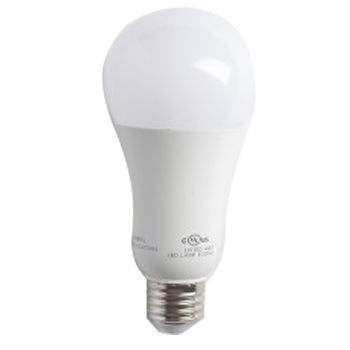 Satco S8646 19 Watt A21 LED 2700K 120V-277V 2000 Lumen Medium (E26) Base 220 Degree Frosted White Bulb (19A21/LED/27K /120-277V)