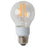 Satco S9846 9 Watt A19 LED 3000K 120V 1100 Lumen Medium (E26) Base Clear Bulb (9A19/CL/LED/E26/30K/120V)