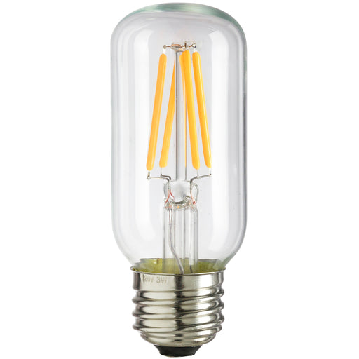 Sunlite T12/LED/AQ/3W/DIM/CL/22K LED 2200K 120V 3 Watts 240 Lumens Tubular T12 Medium (E26) Dimmable (80458-SU)
