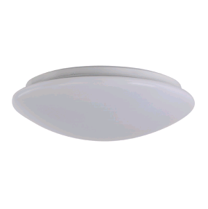 "Sylvania 74263 25 Watt 14"" LED Phase-Cut Dimmable Surface Mount Fixture - 2700K 120V 80 CRI 1500 Lumen (SURFACER1A/025120T827/14S/WH)"