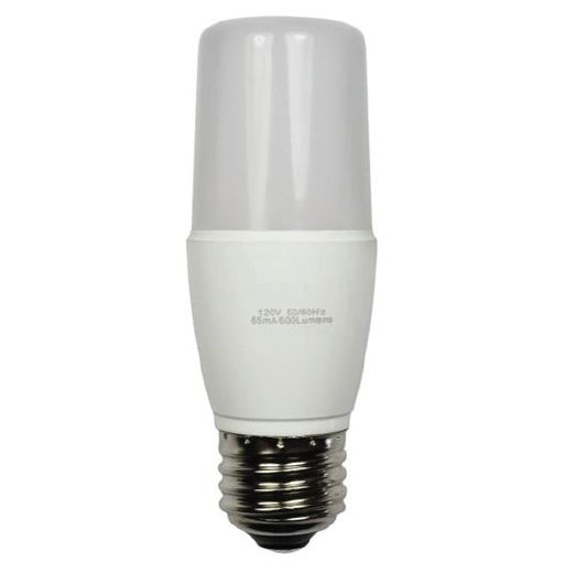 Standard 8 Watt T10 LED 3000K 120V 600 Lumen Medium (E26) Base Frosted Bulb (LED-T10E26-8W-3K)