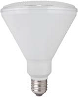 TCP 17 Watt 3500K Medium (E26) Base Dimmable 25 Degree PAR38 LED Bulb (LED17P38D35KNFL)