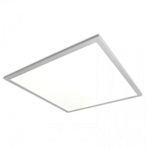 TCP 36 Watt LED 0-10V Dimmable 2x2 Edge Lit Flat Panel with Frosted Lens - 3500K 120V-277V 80 CRI 3600 Lumen Fixture - DLC Standard (TCPFP2UZD3635K)
