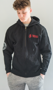 Sale - Warriors of The Road Zip Hoodie