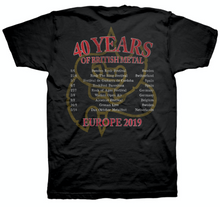 Load image into Gallery viewer, 40th Anniversary Tour T Shirt