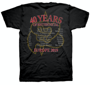40th Anniversary Tour T Shirt
