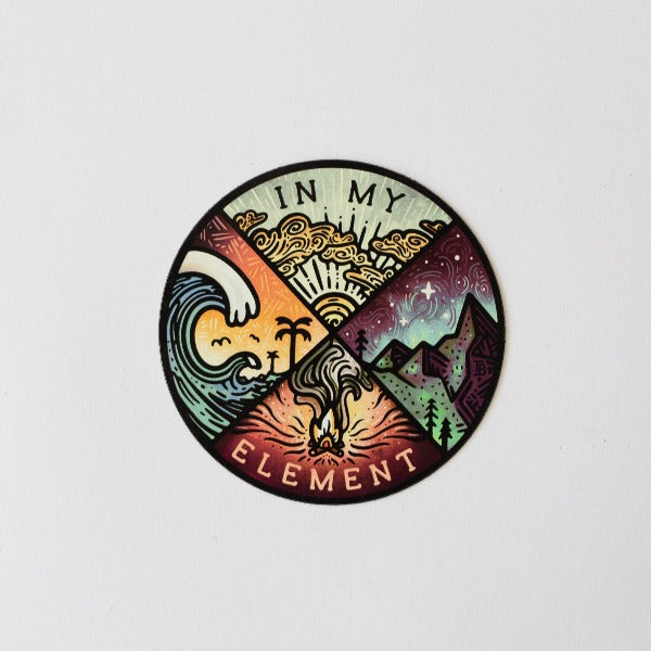 Outdoor Magnet, Four Elements