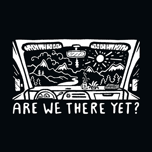 Are We There Yet - B/W