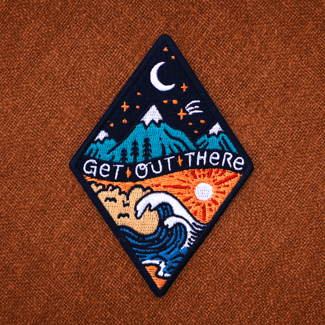 Get Out There Patch