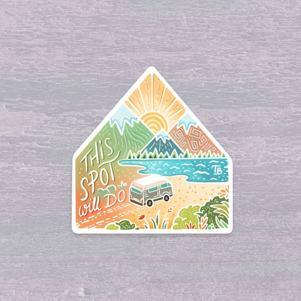 Vanlife Sticker