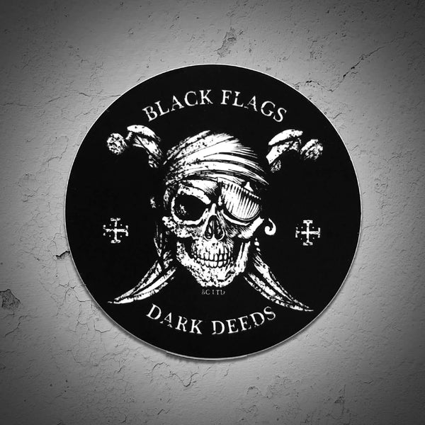 Black Flags Sticker