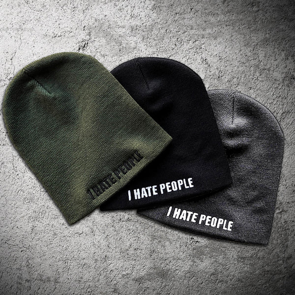 I Hate People Beanie