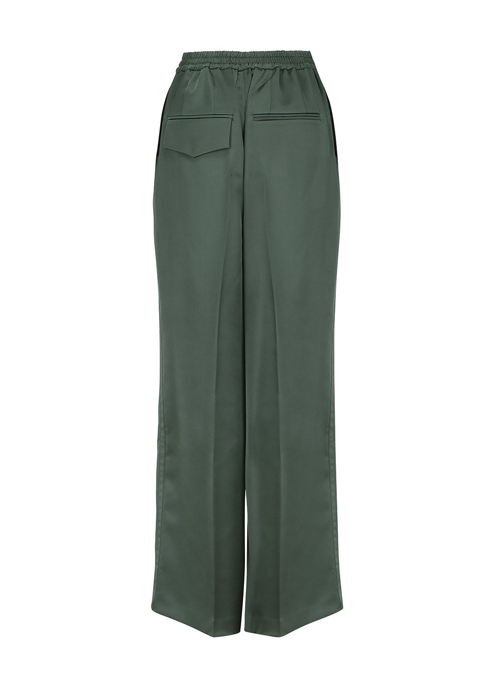SINGLE BANDING PANTS GREEN
