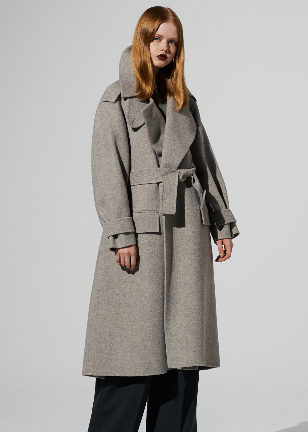 CASHMERE H/D LONG COAT