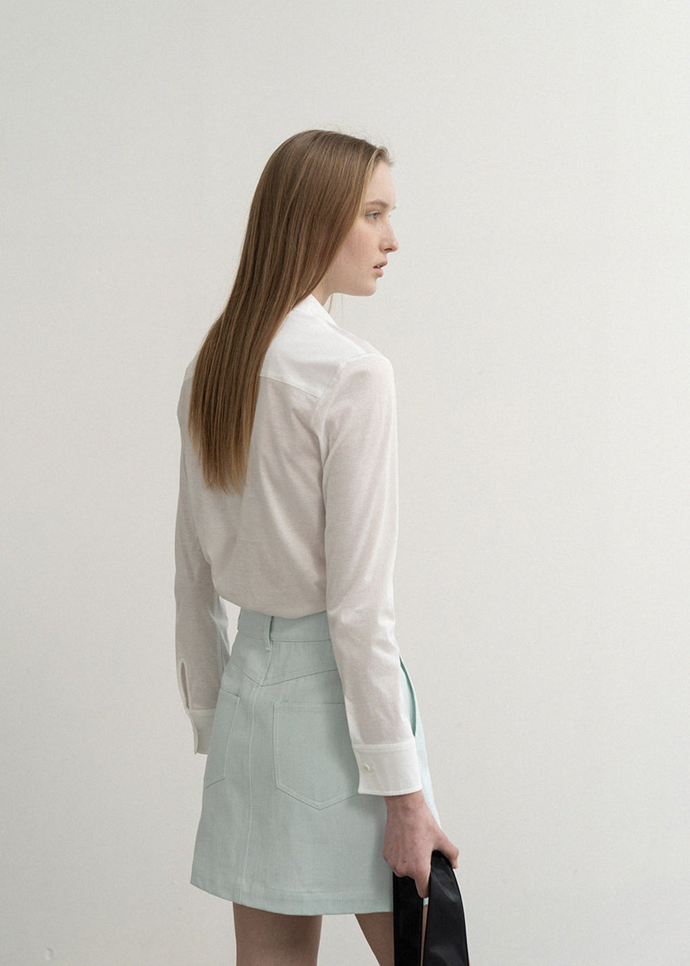 SOFT BASIC SHIRTS IVORY