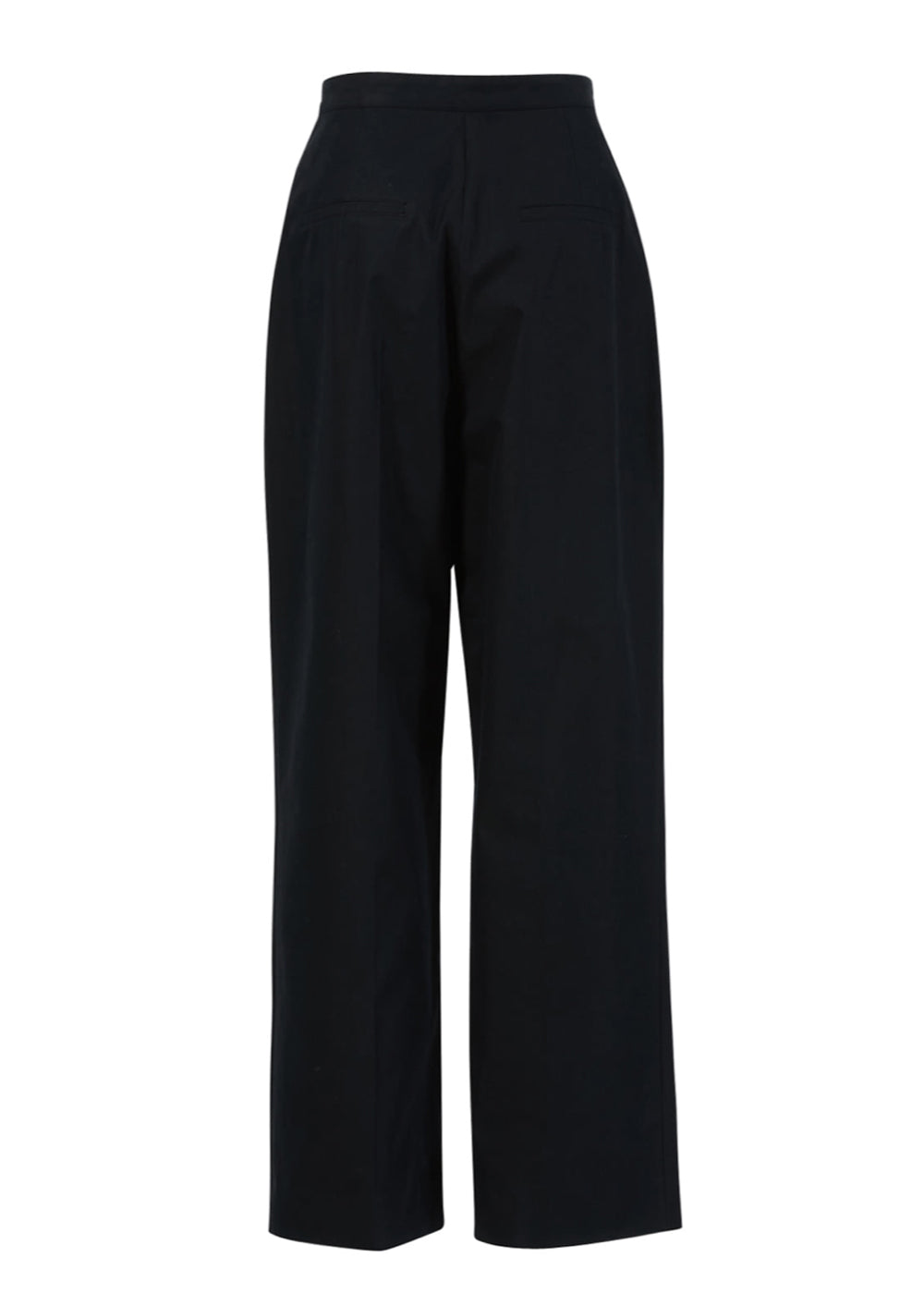 WRAP WIDE PANTS NAVY