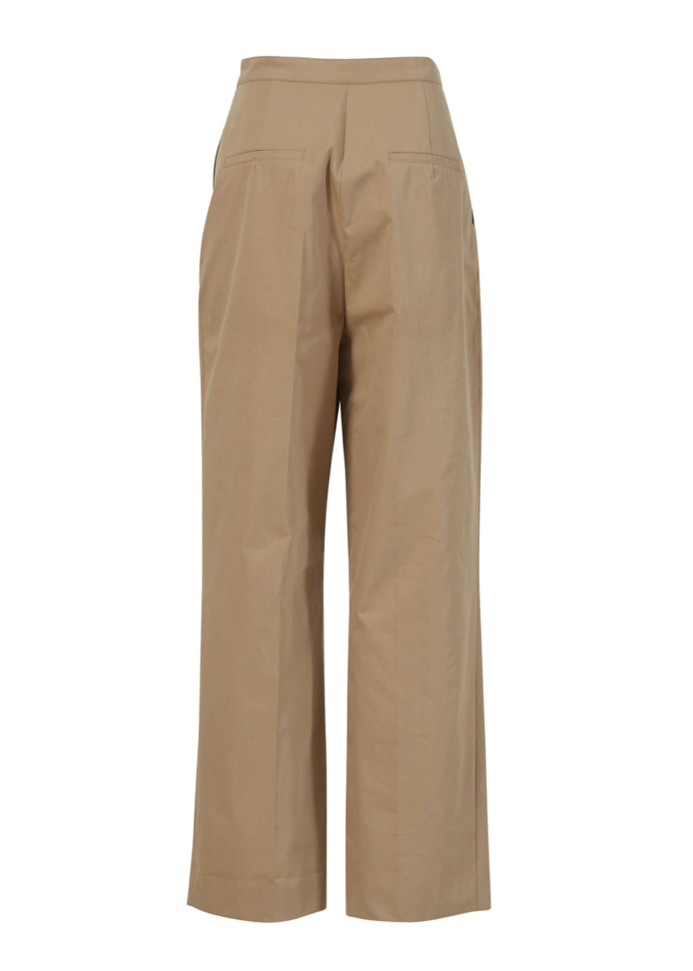 WRAP WIDE PANTS BEIGE