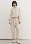 CASHMERE WHOLEGARMENT TURTLENECK SWEATER IVORY