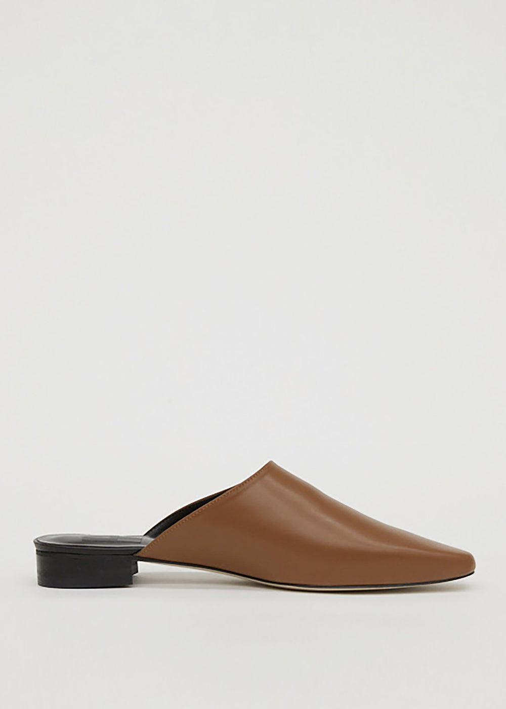 LEATHER MULE CAMEL