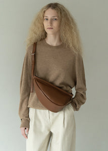 HALF MOON BAG BROWN