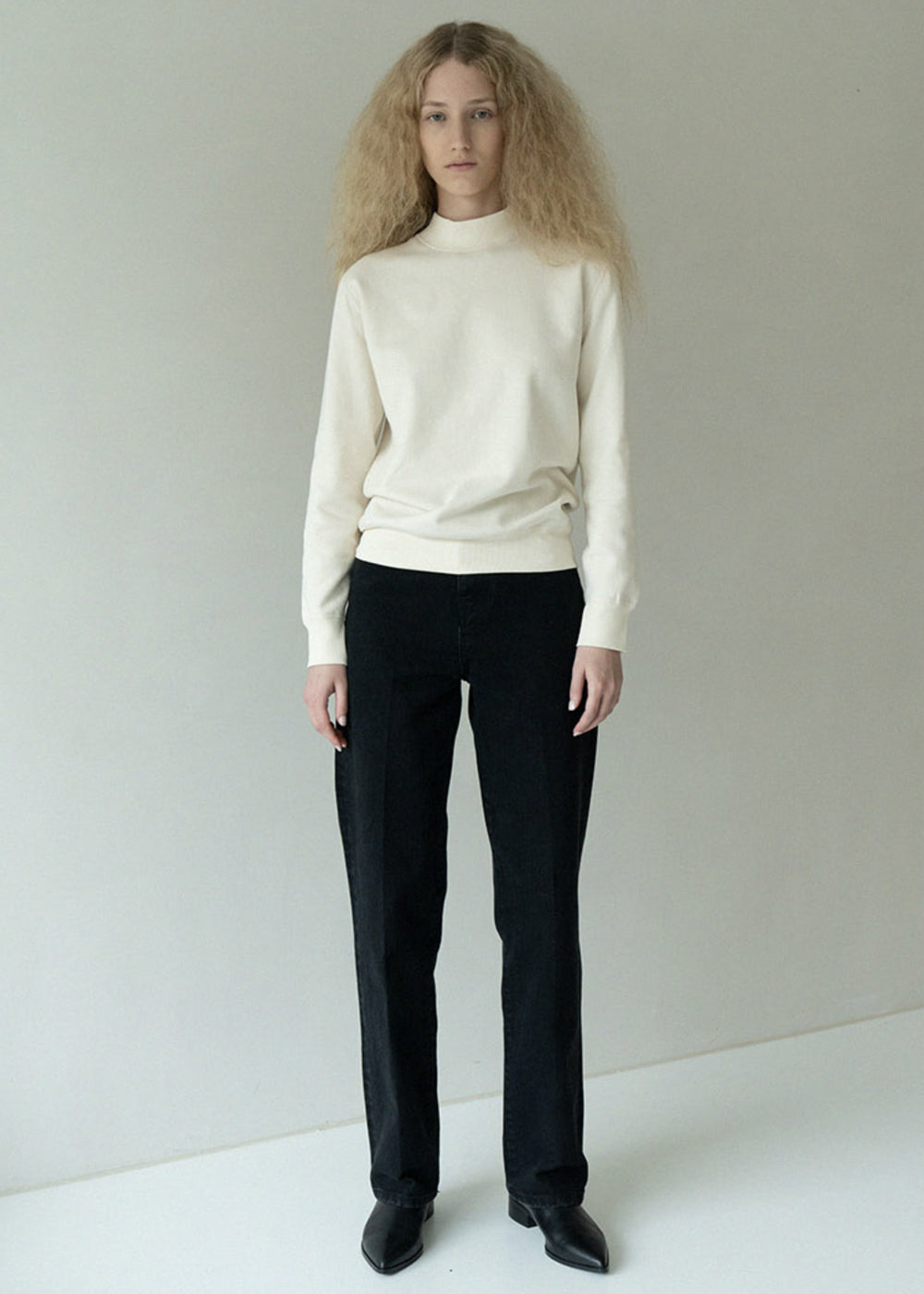 SOFT SWEATSHIRT IVORY