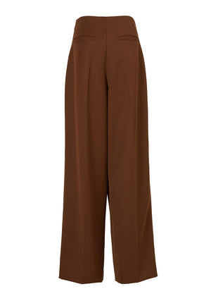 WIDE TWO TUCK PANTS