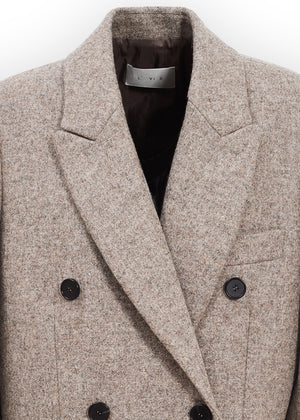WOOL HERITAGE DOUBLE COAT