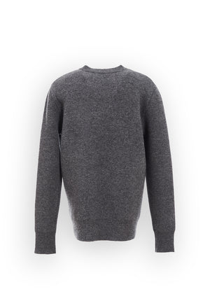 V NECK WOOL KNIT