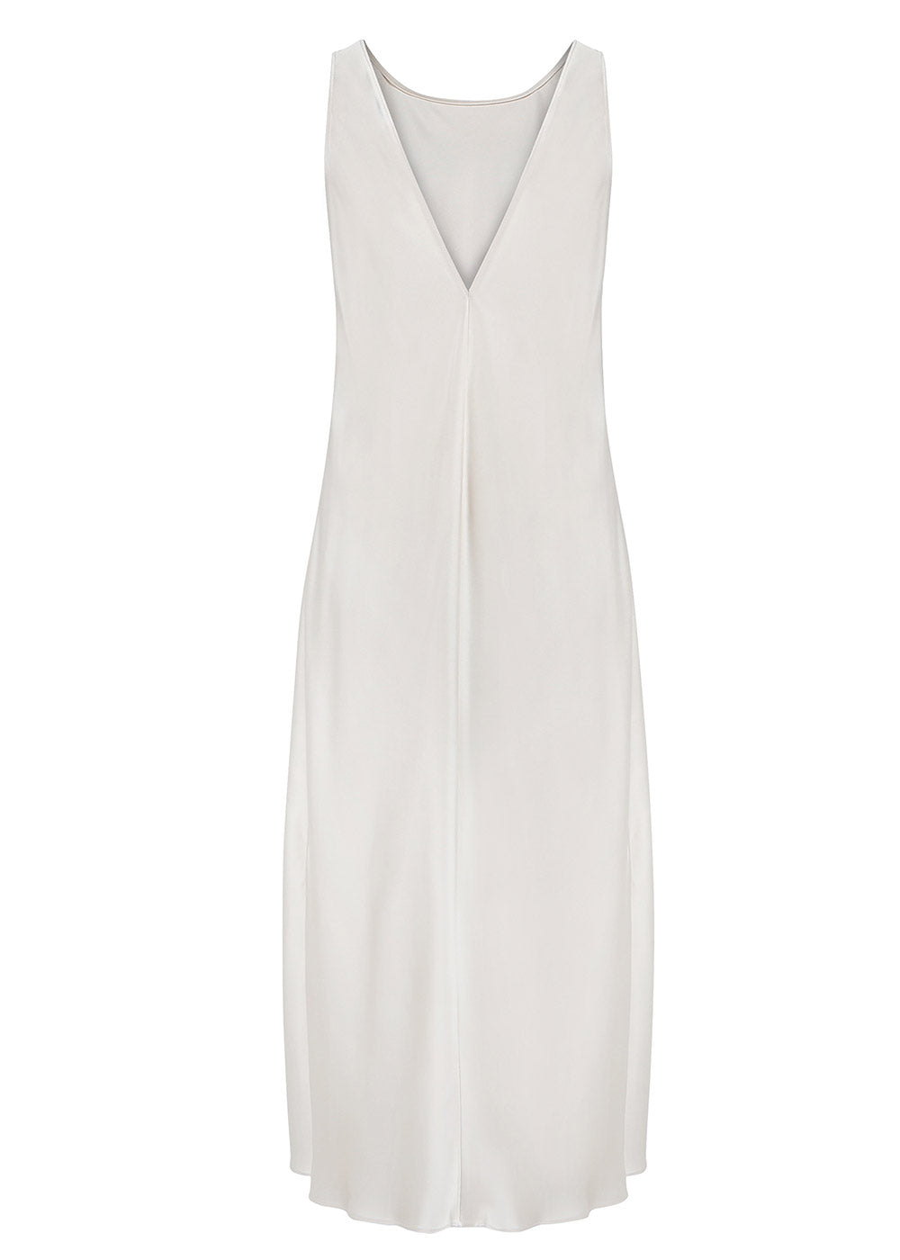 SIDE-SLIT DRESS IVORY