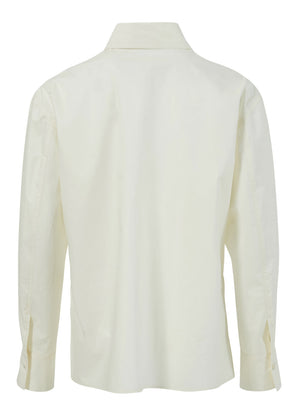 BIG COLLAR SHIRT CREAM