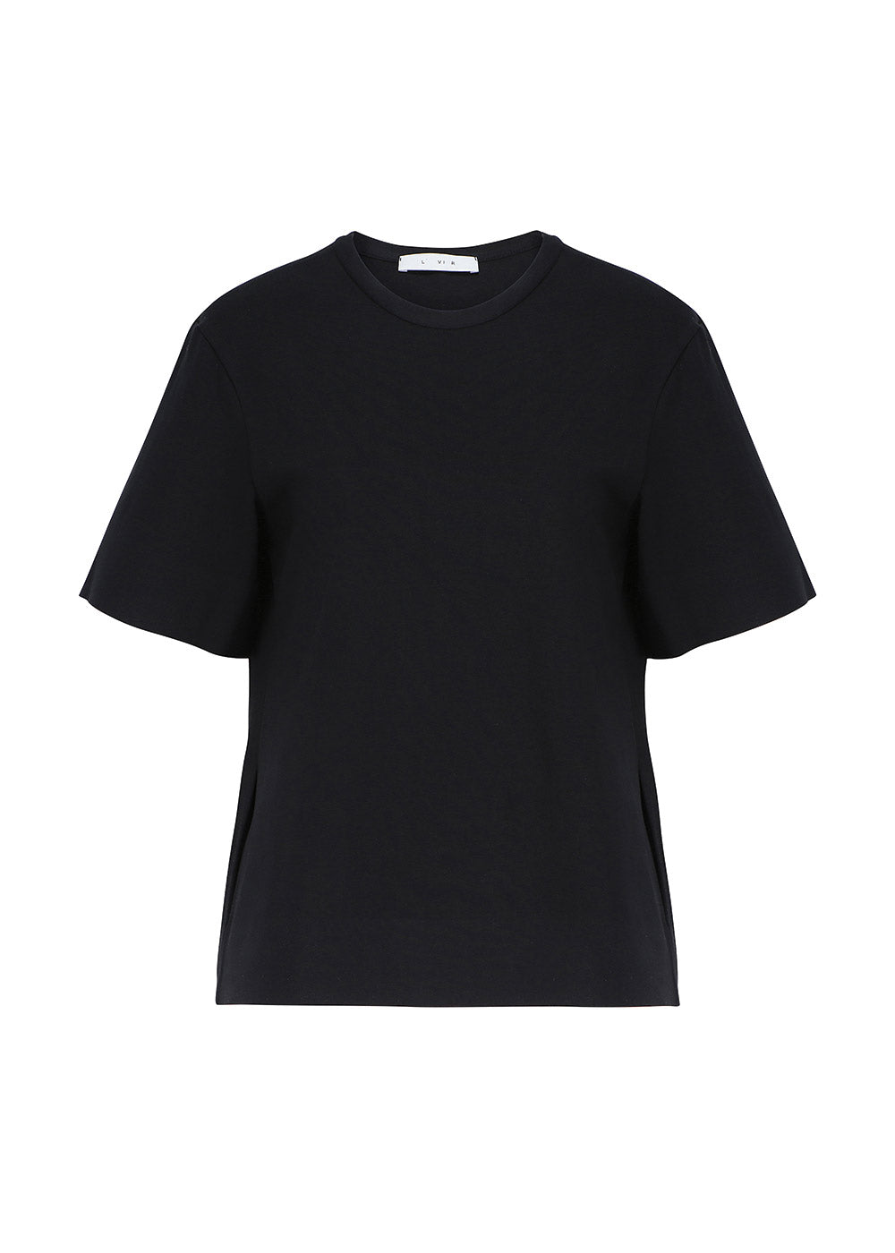 EMBROIDERED LOGO T-SHIRT BLACK