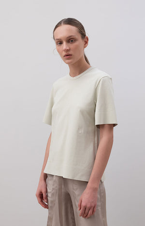 EMBROIDERED LOGO T-SHIRT OLIVE