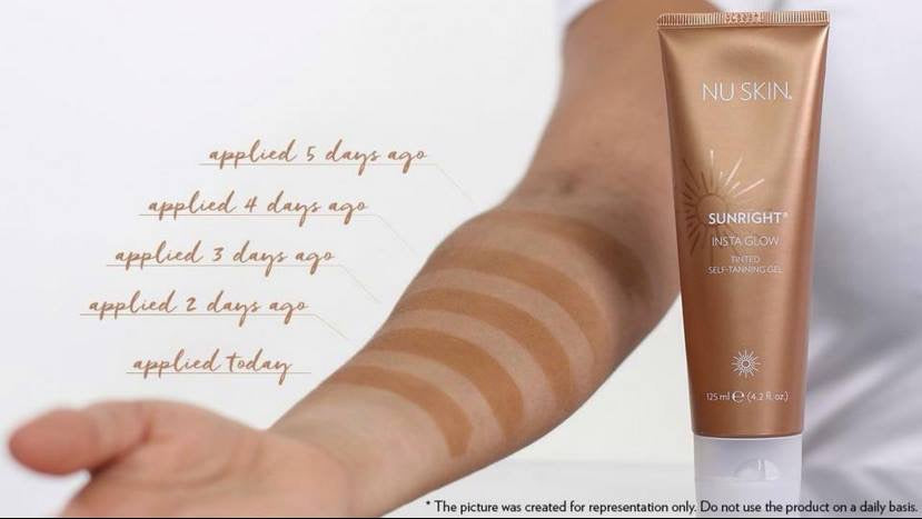 Sunright INSTAGLOW - Sunless Tanning Gel