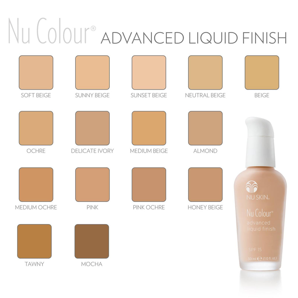 Advanced Liquid Finish FOUNDATION with Sunscreen