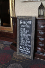 Load image into Gallery viewer, Personalized Rustic Chalkboard