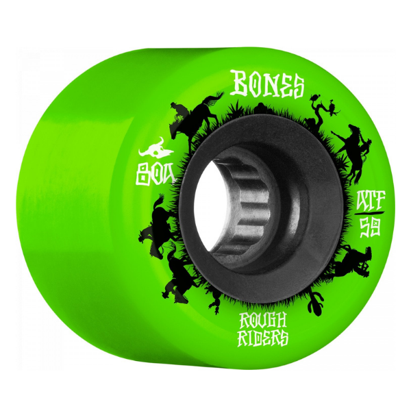 Bones - Rough Riders Wranglers 59mm (Green)