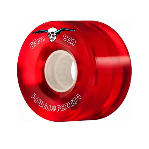 Powell Peralta - Red Cruisers 63mm 80A (Clear Red)