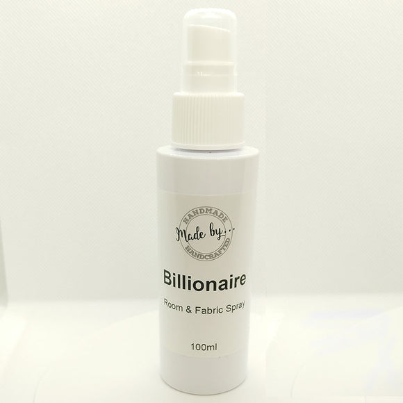 Billionaire Room & Fabric Spray (Creed Type) 8x 100ml - Scentsual Body & Home