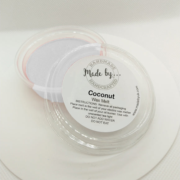 Coconut Wax Melt Pot - Scentsual Body & Home