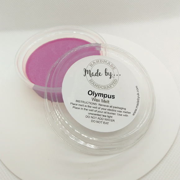 Olympus Wax Melt Pot (Olympea Type) - Scentsual Body & Home