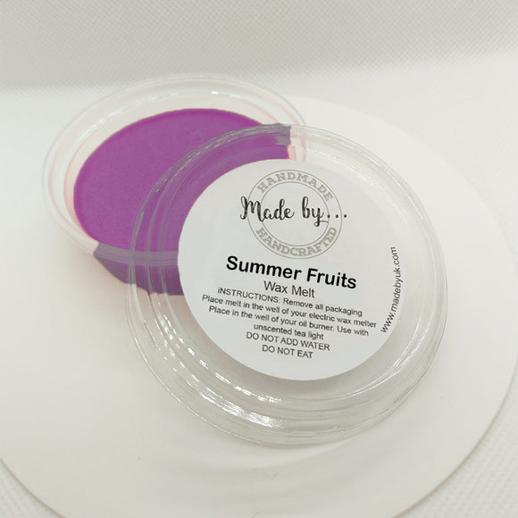 Summer Fruits Wax Melt Pot - Scentsual Body & Home