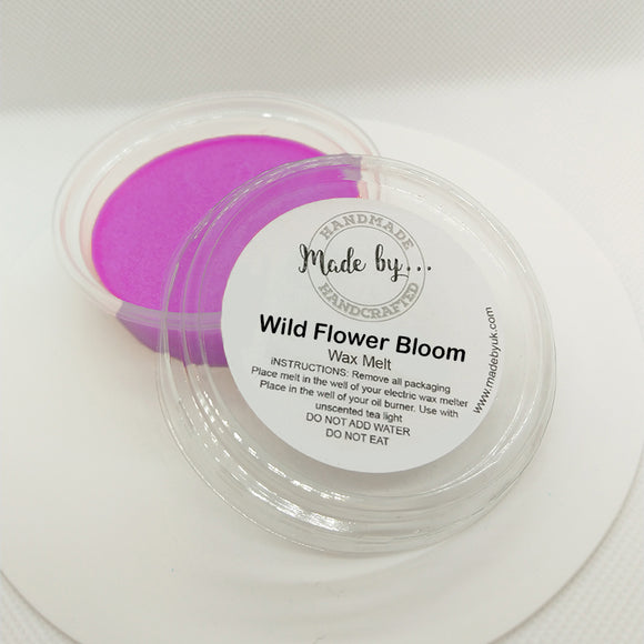 Wild Flower Bloom Wax Melt Pot (Lenor Type) - Scentsual Body & Home