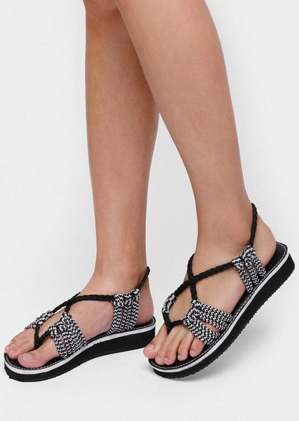 Summer Braid Flat Sandals