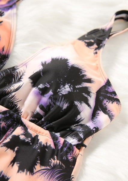 Coconut Tree Sexy Tankini