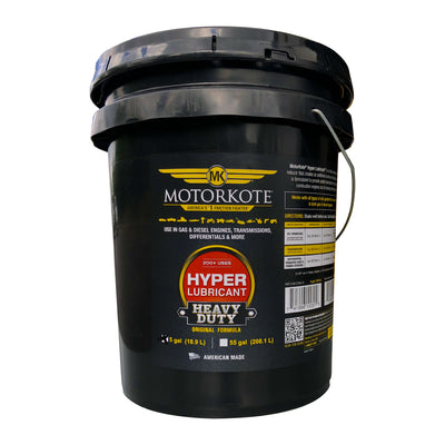 MotorKote Hyper Lubricant Engine Treatment 5 Gallon, Engine, - MotorKote.com