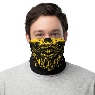 Skull Beard Face Covering Neck Gaiter