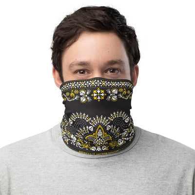 Face Covering Neck Gaiter MK Skull Bandana Pattern